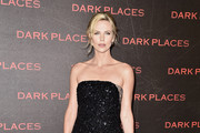 Charlize Theron Peep Toe Pumps