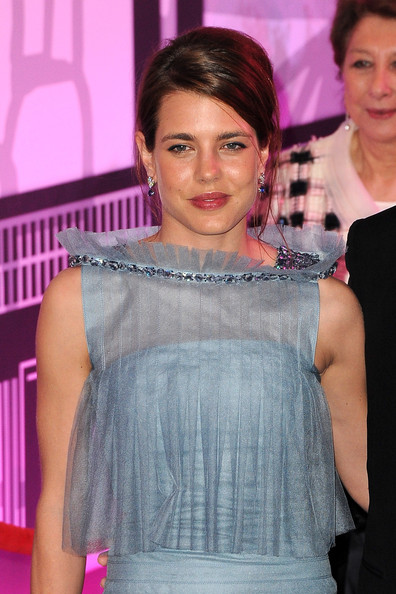 Charlotte Casiraghi Sheer Top