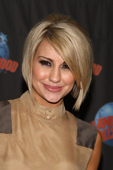 Chelsea Kane Graduated Bob [dancing with the stars,hair,face,hairstyle,blond,chin,bob cut,layered hair,eyebrow,bangs,hair coloring,chelsea kane,actress,new york city,planet hollywood times square,planet hollywood]