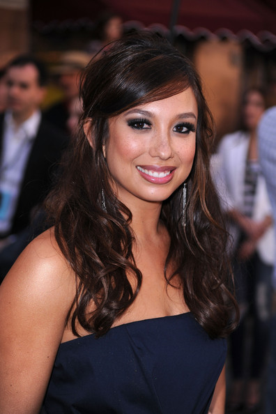 Cheryl Burke Dangling Gemstone Earrings