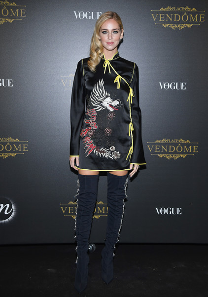 Chiara Ferragni Embroidered Dress