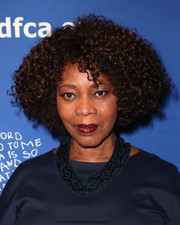 Alfre Woodard wore her hair in an afro at the Beat the Odds Awards.