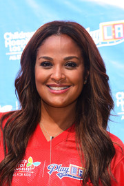 Laila Ali looked lovely with her long wavy hairstyle at the Children's Hospital Los Angeles Inaugural Play LA Fundraiser.