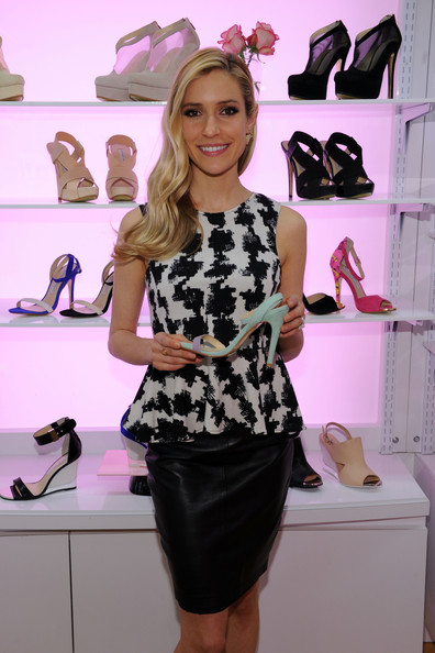 More Pics of Kristin Cavallari Knee Length Skirt (4 of 13) - Kristin Cavallari Lookbook - StyleBistro