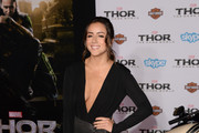 Chloe Bennet Little Black Dress