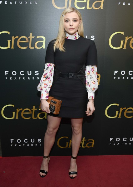 Chloe Grace Moretz Little Black Dress