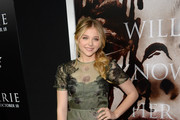 Chloe Grace Moretz Evening Dress