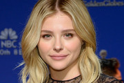 Chloe Grace Moretz Medium Wavy Cut