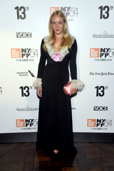 Chloe Sevigny Evening Dress
