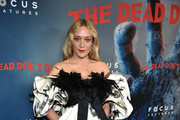 Chloe Sevigny Off-the-Shoulder Dress