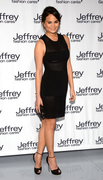 Chrissy Teigen Little Black Dress