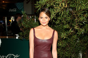 Chrissy Teigen Leather Dress
