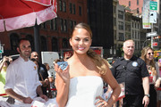 Chrissy Teigen Tube Top