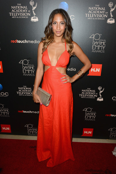 Christel Khalil Cutout Dress
