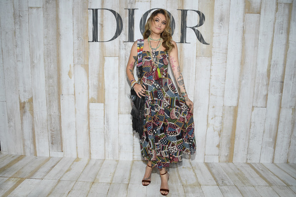 More Pics of Paris Jackson Embroidered Dress (1 of 3) - Dresses & Skirts Lookbook - StyleBistro
