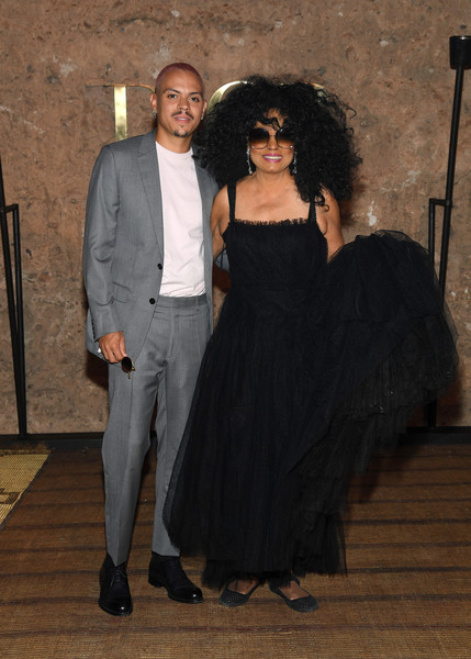 More Pics of Diana Ross Ballet Flats (1 of 2) - Diana Ross Lookbook - StyleBistro [fashion,formal wear,suit,dress,event,little black dress,fashion design,black hair,tuxedo,s20 cruise collection,diana ross,evan ross,photocall,marrakech,morocco,christian dior couture s]
