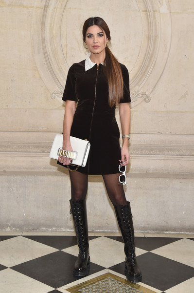 Negin Mirsalehi at Christian Dior