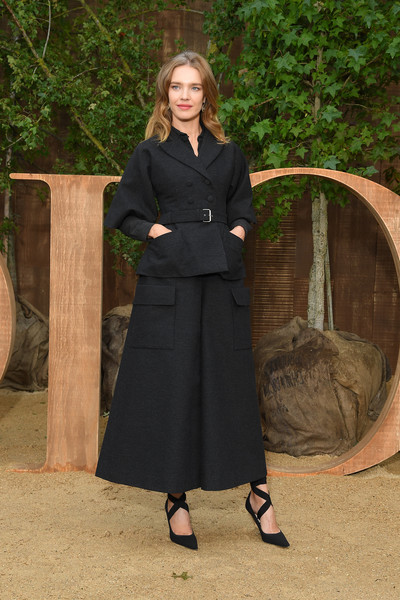 More Pics of Natalia Vodianova Skirt Suit (1 of 3) - Natalia Vodianova Lookbook - StyleBistro [clothing,lady,coat,outerwear,fashion,footwear,overcoat,dress,shoe,trench coat,christian dior,natalia vodianova,part,summer 2020,paris,france,christian dior womenswear spring,photocall - paris fashion week,show,paris fashion week]
