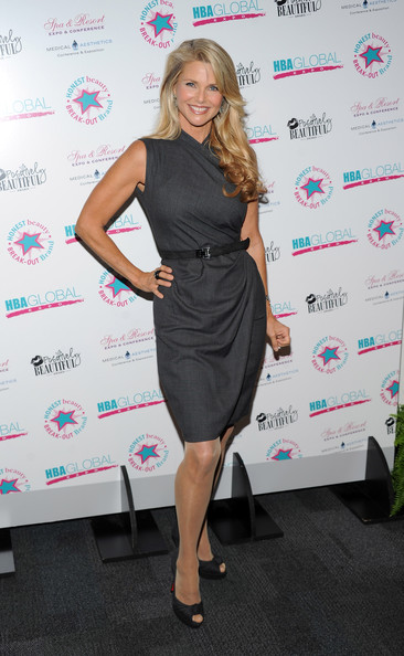 Christie Brinkley Day Dress