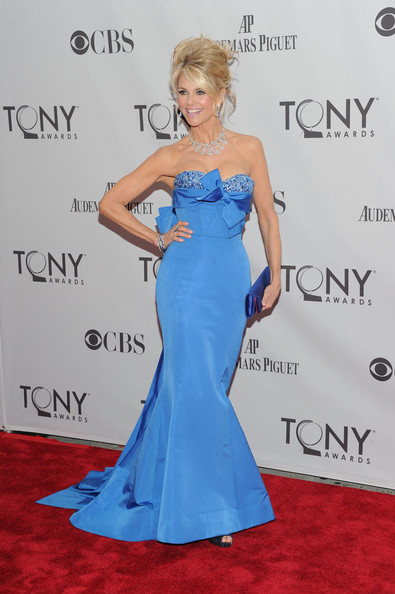 Christie Brinkley Evening Dress [sports illustrated swimsuit,blue,gown,flooring,electric blue,dress,joint,beauty,shoulder,carpet,cocktail dress,christie brinkley,tony awards,gown,flooring,blue,beautiful,new york city,beacon theatre,65th annual tony awards,christie brinkley,sports illustrated swimsuit: 50 years of beautiful,celebrity,hollywood,model,65th tony awards,fashion,actor,sports illustrated]