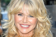 Christie Brinkley Long Curls with Bangs