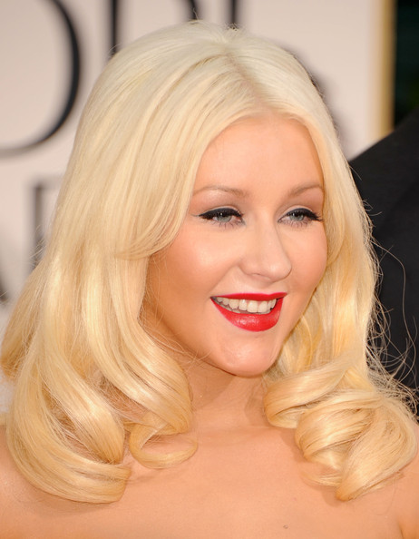 christina aguilera 2011 golden globes. Christina Aguilera Beauty