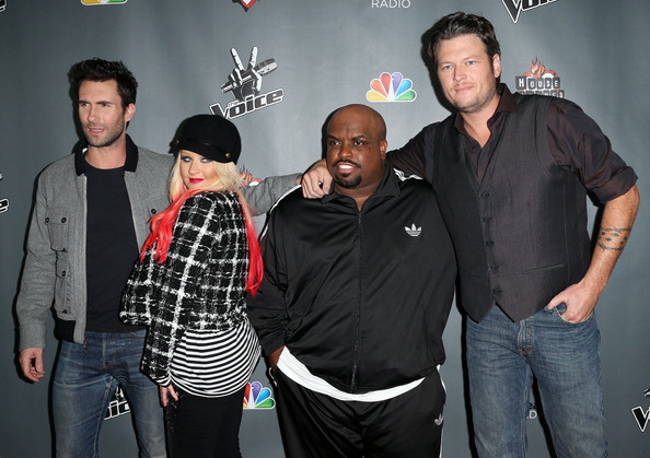 "NBCUniversal's ""The Voice"" Season 3 Red Carpet Event - Arrivals"