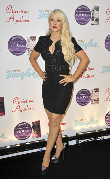 Christina Aguilera Little Black Dress