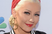 Christina Aguilera Gold Hoops