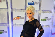 Christina Aguilera Maternity Dress