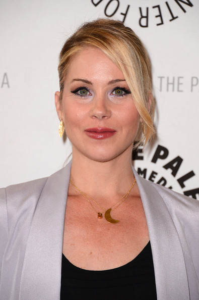 Christina Applegate Pink Lipstick [up all night,hair,face,blond,hairstyle,eyebrow,chin,lip,premiere,neck,long hair,christina applegate,beverly hills,california,the paley center for media,paley center for media presents an evening with,the paley center for media]