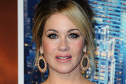 Christina Applegate Messy Updo