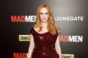 Christina Hendricks Beaded Dress