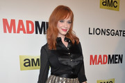 Christina Hendricks Button Down Shirt