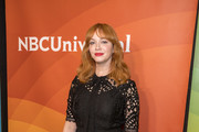 Christina Hendricks Lace Dress
