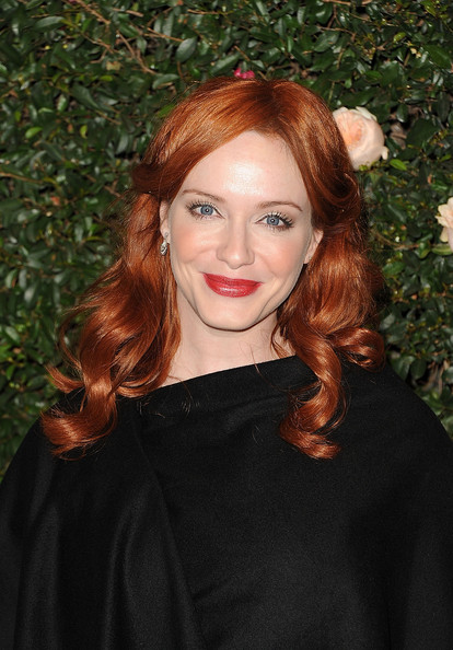 Christina Hendricks Neutral Eyeshadow