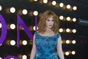 Christina Hendricks Sequin Dress