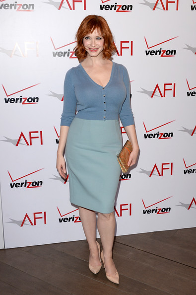 Christina Hendricks Cardigan