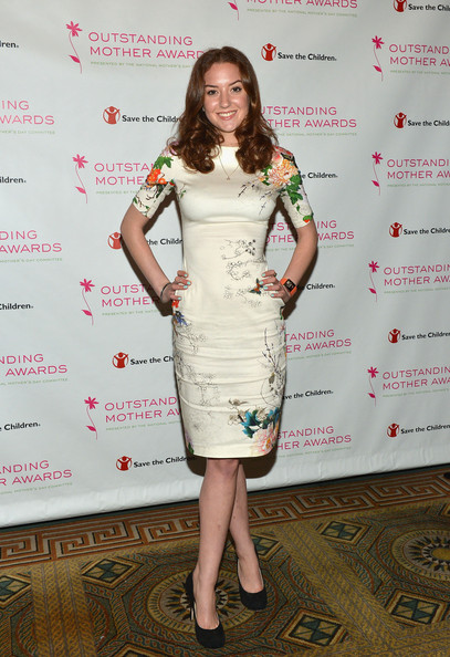 Christina Huffington Print Dress