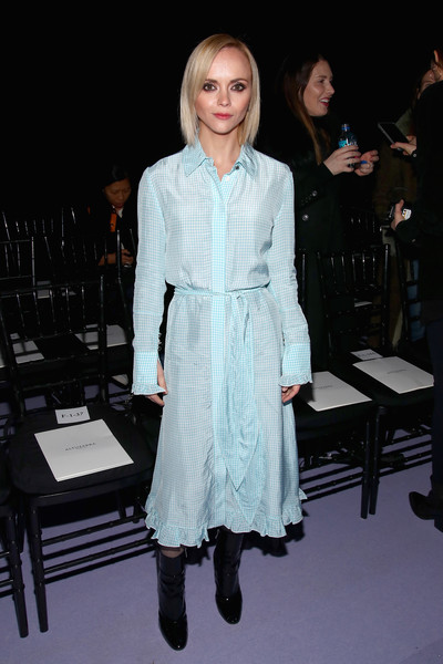 Christina Ricci Shirtdress