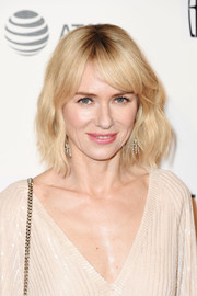 Naomi Watts looked pretty with her short blonde waves at the Tribeca Film Fest premiere of 'Chuck.'