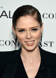 Coco Rocha attended the Glamour Women of the Year Awards wearing a sleek, tight ponytail.