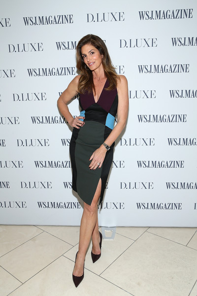 Cindy Crawford Form-Fitting Dress