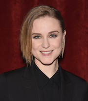 Evan Rachel Wood looked trendy with her graduated bob at the special screening of 'Strange Magic.'