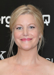 Anna Gunn styled her hair into a slightly messy updo for the screening of 'Equity.'