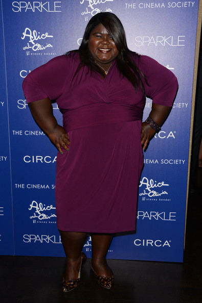 More Pics of Gabourey Sidibe Cocktail Dress (1 of 3) - Gabourey Sidibe Lookbook - StyleBistro