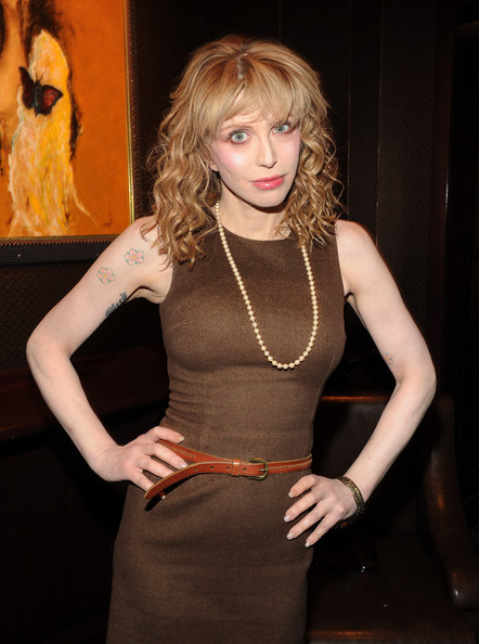 More Pics of Courtney Love Flower Tattoo (1 of 12) - Courtney Love Lookbook - StyleBistro