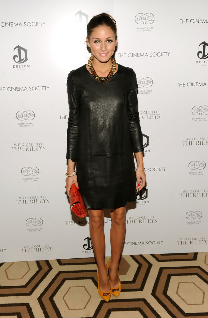 "TV personality Olivia Palermo attends The Cinema Society & Everlon Diamond Knot Collection&squot;s screening of ""Welcome To The Rileys"" on October 18, 2010 at the Tribeca Grand Hotel in New York City."