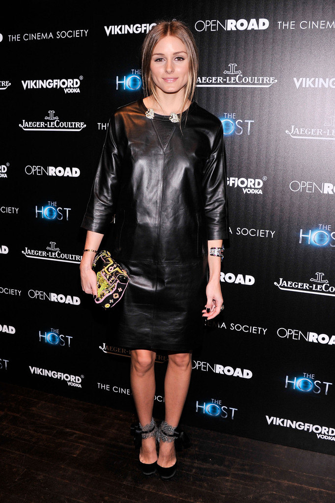 "Olivia Palermo attends The Cinema Society & Jaeger-LeCoultre Hosts A Screening Of ""The Host"" at Tribeca Grand Hotel on March 27, 2013 in New York City."
