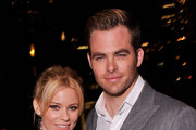 Elizabeth Banks and Chris Pine Photo